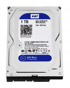 """WD Blue - Hard drive - 1 TB - internal - 3.5"""" - SATA 6Gb/s - 7200 rpm - buffer: 64MB"""