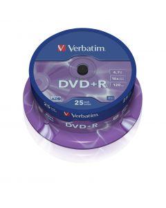 Verbatim DVD-R 4,7GB 25 stuks