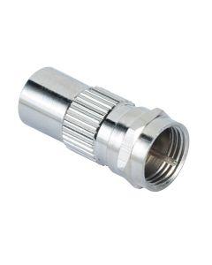 adapter coax - plug - F - plug