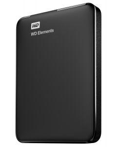 Western Digital WD Elements Portable 2.5 Inch externe HDD 1TB, Zwart