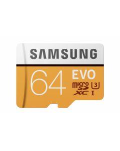 Micro SD 64GB EVO w SD Adapter Class10
