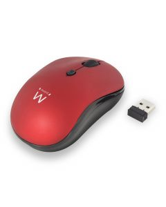 Ewent Wireless mouse red 800/1200/1600dp