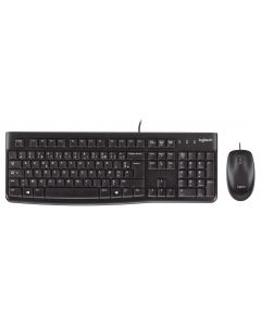 Logitech MK120 - Business Keyboard & Optical Mouse - USB