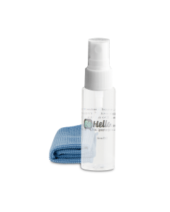 BeHello Antibacteriele Schoonmaakset met Spray 35 ml en Doekje geschikt voor Laptop Smartphone