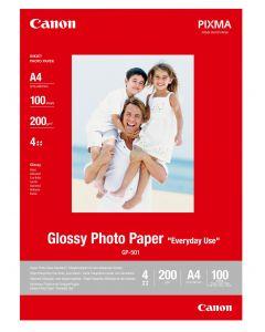 Canon Glossy Fotopapier A4 - 100 Vellen