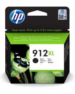 HP 912XL Inktcartridge - Zwart