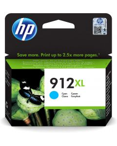 HP 912XL Inktcartridge - Cyaan