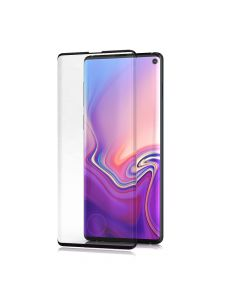 BeHello Samsung Galaxy S10 Edge to Edge High Impact Glass Screen Protector Black