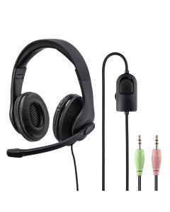 PC-Office-headset HS-P200. stereo. zwart