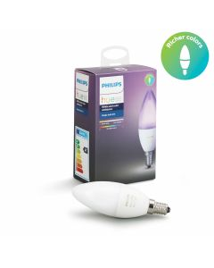 Philips Hue White and Color losse lamp E14 / 16 miljoen kleuren