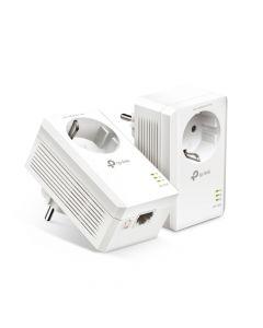 TP-LINK Powerline Kit 1000 Gigabit met stopcontact