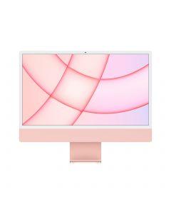 """Apple iMac 24"""" (2021) M1 - 256GB SSD - 8GB Ram - Roze - AZERTY"""