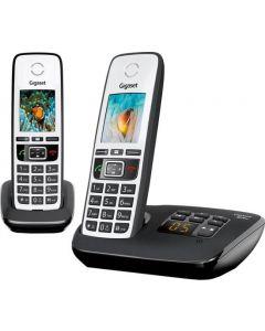 Gigaset A670A Duo Draagbare Telefoonset met Antwoordapparaat - Zwart