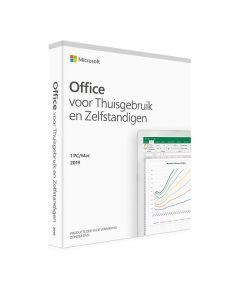 Microsoft Office Thuisgebruik en Zelfstandigen 2019 PC/MAC