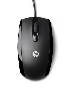 HP - Mouse - optical - 3 buttons - wired - USB