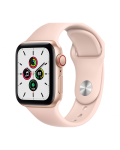 Apple Watch SE Cellular 40MM Sport Band - Goud/Roze